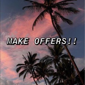 MAKE OFFERS ON EVERYTHING! 💓💓